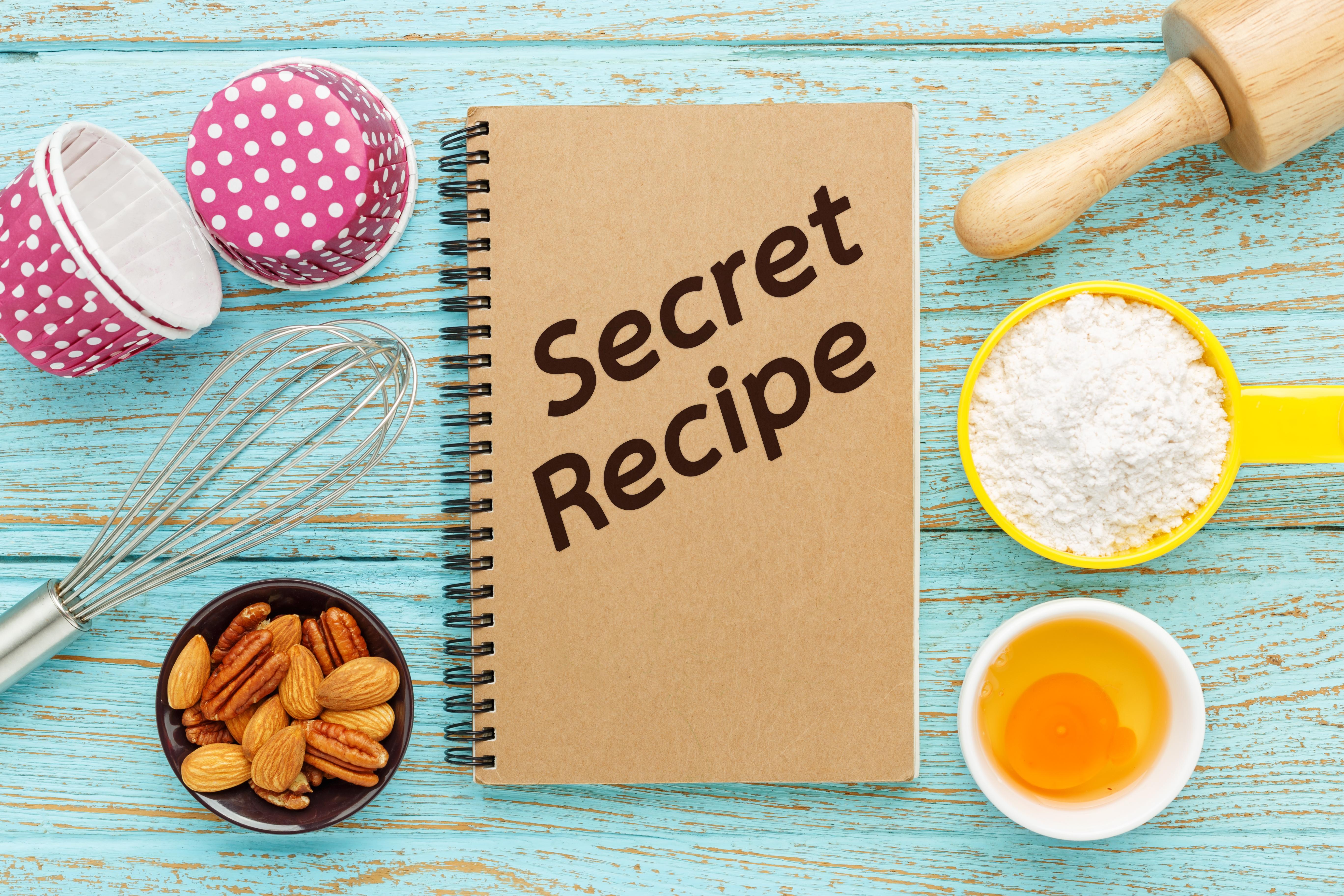 秘密のレシピ